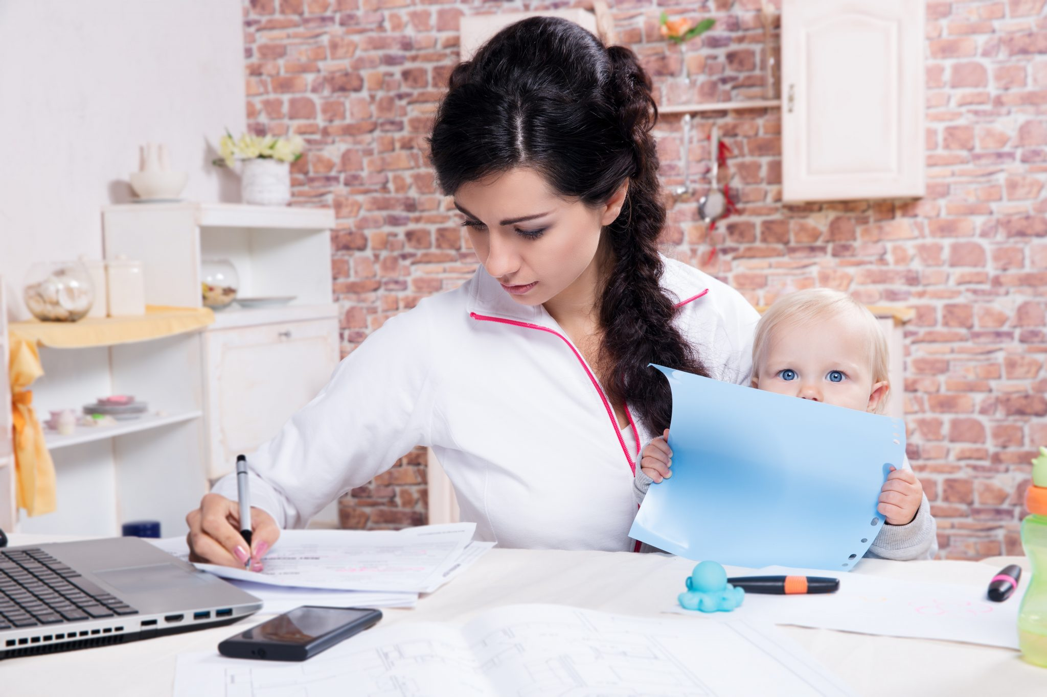 Tips for Starting a Business as a New Mom