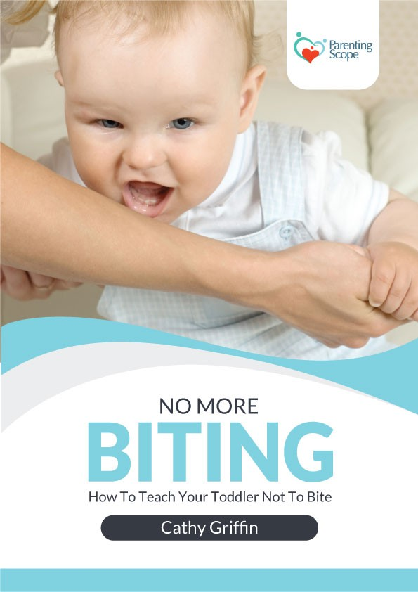 How to Teach Your Toddler Not to Bite - COVER only
